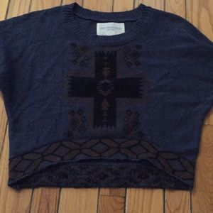 COPY - Obey cropped sweater